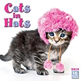 Cats In Hats 2018 Wall Calendar (CA0116)