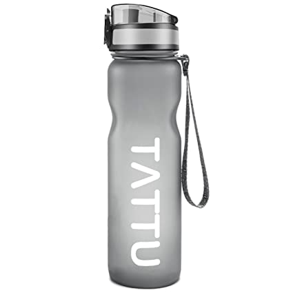 a3621fd71 Image Unavailable. Image not available for. Color  TATTU WB02 Sport Water  Bottle One-Click Open ...