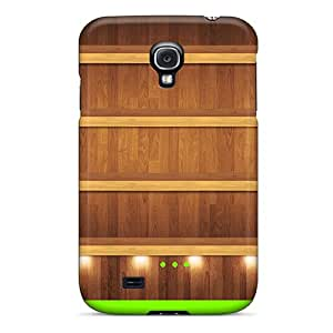 New Arrival Galaxy S4 Case Shelves W Green Dock Case Cover