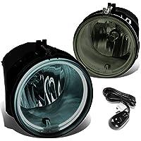 DNA Motoring FL-HAS028-SM Fog Lights+Switch+CCFL Power Inverter [For 05-10 Jeep Grand Cherokee]