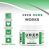 Uber Numb 5% Lidocaine Topical Anesthetic Cream