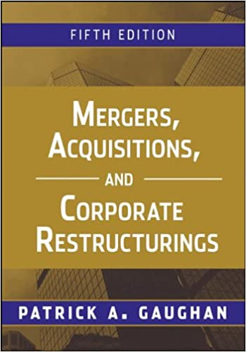 Mergers Acquisitions And Corporate Restructurings Pdf