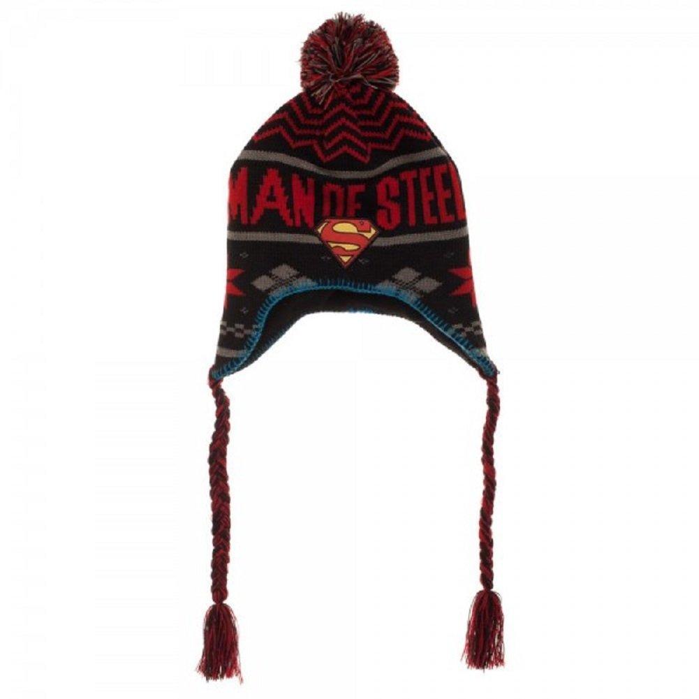 f0794819e6283 Herren-Accessoires Authentic DC COMICS Superman Classic Logo Cuff Beanie Hat  NEW