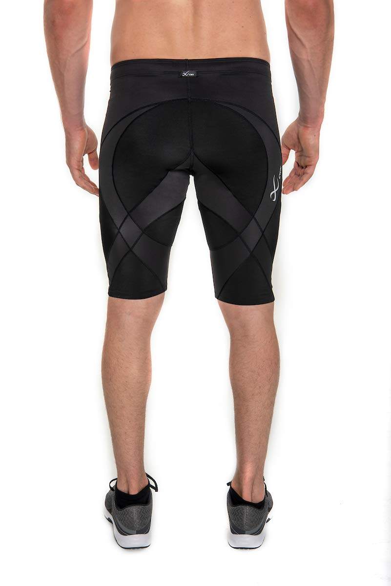 CW-X Men's Pro Shorts (Black, Medium) by CW-X (Image #3)