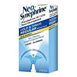 Neo-Synephrine Cold Sinus Regular Strength Nasal Decongestant Spray (Pack 3)