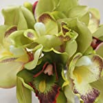 Lily-Garden-Mini-7-Stems-Cymbidium-Orchid-Bundle-Artificial-Flowers-Green