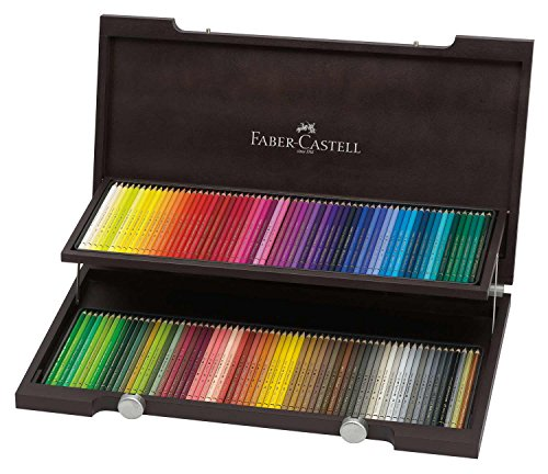 Polychromos 120 Pencil Wood Box Set (Faber Castell Box)