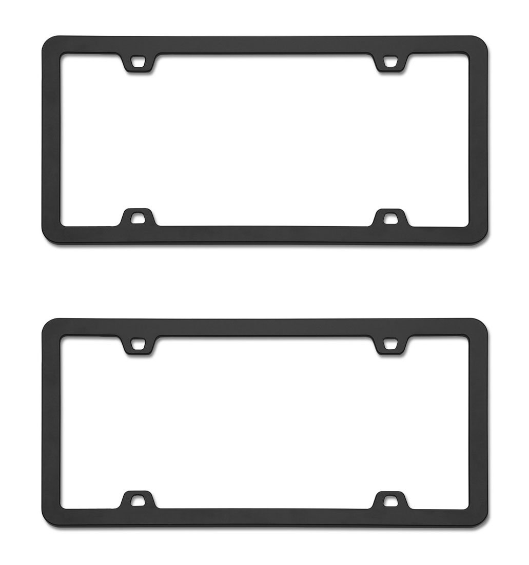 Cruiser Accessories Neo Black License Frame 74533 2 Frames