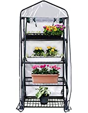 "Gardman R687 4-Tier Mini Greenhouse, 27"" Long x 18"" Wide x 63"" High"