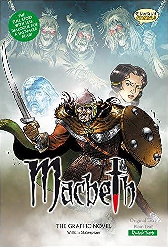 Descargar Libros En Ingles Macbeth (classical Comics): The Graphic Novel: Quick Text PDF En Kindle