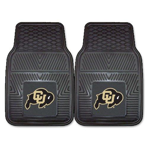 (FANMATS NCAA University of Colorado Buffaloes Vinyl Heavy Duty Car Mat)