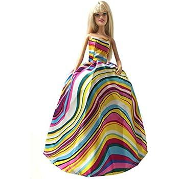 Amazon.com: Peregrine Bright Color Wave Stripe Gown for 11