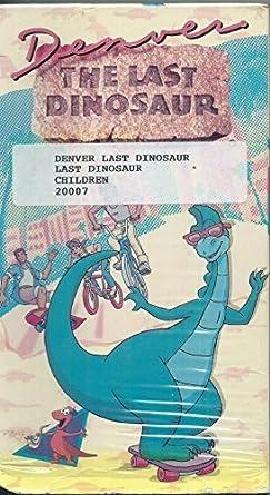 Amazon.com: Denver:Last Dinosaur [VHS]: Anna Aguerri, Carlos ...