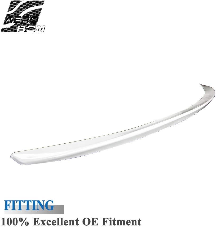 Aler/ón trasero de ABS para maletero de coche prepintado estilo M3 compatible con 06-13 E92 3-Series y M3 color blanco