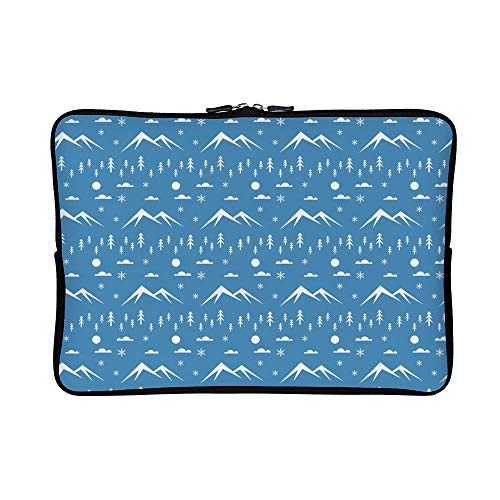(DKISEE Abstract Everest (1) Neoprene Laptop Sleeve Case Waterproof Sleeve Case Cover Bag for)