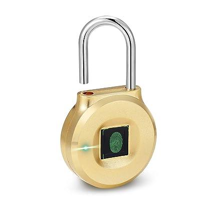 Fingerprint Lock, Uervoton Smart Locker Lock for Gym, Sports
