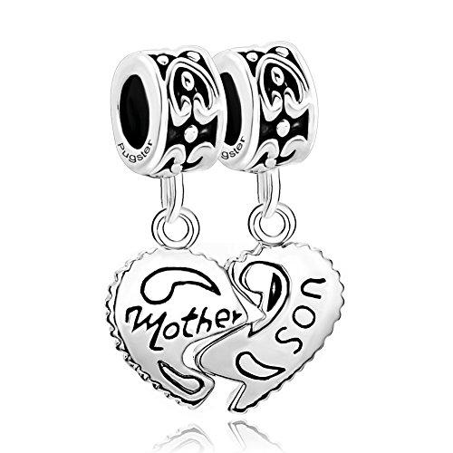 CharmsStory Sterling Silver Mother Bracelets