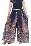Lannaclothesdesign Womens Lounge Palazzo Pants Wide Legs S M L XL Sizes