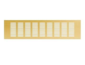 400x100mm plinth heat vent grill aluminium GOLD ra1040g Kitchen worktop 16 x 4 inch