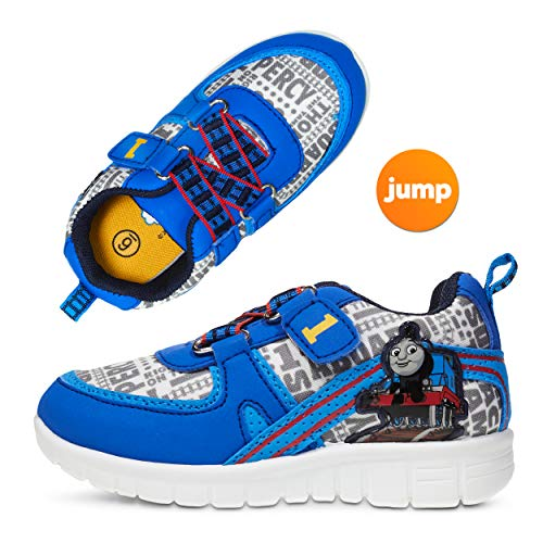 Thomas and Friends Toddler Boy Sneakers ; Boys' Athletic Shoes in Blue (Best Shoes To Train In)