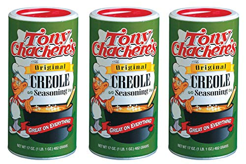 - Tony Chachere's Original Creole Seasoning, 17 Ounce (3 Pack)