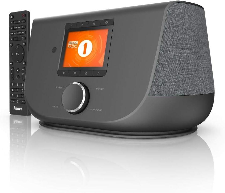 WiFi bluetooth App DAB+ FM Hama Internet radio bianco Digital Radio DIR3300SBT
