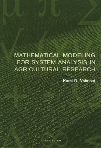 Download Mathematical Modeling for System Analysis in Agricultural Research Pdf