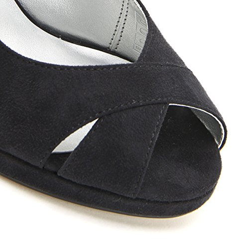 PRENDIMI by Scarpe&Scarpe - Sandalias altas cruzadas con plataforma, con Tacones 10 cm Negro