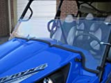 """Kawasaki Teryx 4 Seater (2012-2014) 17 1/2"""" Tall Half Windshield Tallest on the market (we make shorter upon request let us know at time of order). Made in America"""