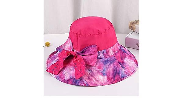 zhuzhuwen Sombrero Grande Visera Sombrero Dama Protector Solar ...