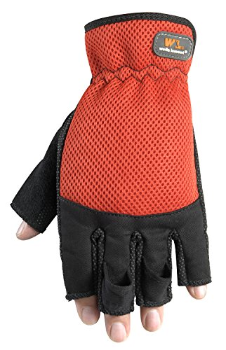 Wells 836M Sport Gloves, Stretch Canvas Elasticized Vary, Medium