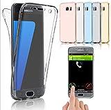 f646c27717d InnovaPhone- Funda Para Samsung Galaxy J7 Prime Transparente, TPU 360  Protección total, TPU