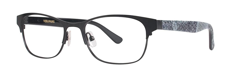 VERA WANG Eyeglasses V382 Black 50MM