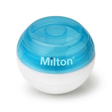 Milton Mini Portátil Chupete Esterilizador Azul: Amazon.es ...