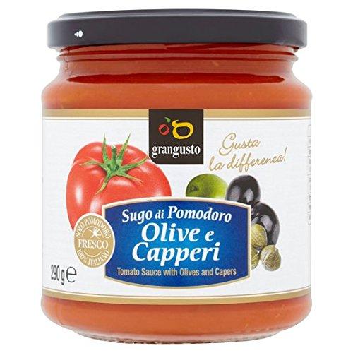 Grangusto Revolver-En tomate, la aceituna y la alcaparra Pasta 290g Salsa