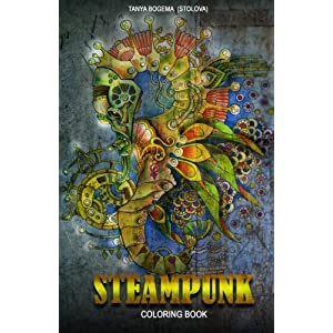 Adult Coloring Book: Steampunk