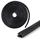 Car Door Edge Guards 13Ft - Sumnacon Flexible Rubber Edge Trim for Protecting Edges of Cars, Boats, Vehicles & Metal Glass Equipment, Durable and Removable Protector Guard Seal Strips