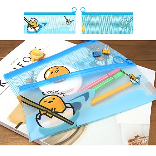 Multicolor Beecrazee Gudetama GU 2695 Pencil Pouch