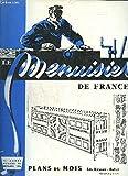 """LE MENUISIER DE FRANCE N°122 - FEVRIER 1958 - Plans du mois : Chambre de jeunes frère et soeur - Coin de feu - La prévention des accidents du travail - """"Mieux que du métal, cette poutre est en bois"""" - Les produits en bois reconstitué - SOS termites ..."""