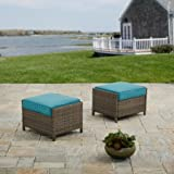 Better Homes and Garden Mayers Bay 2 Piece Outdoor Ottomans