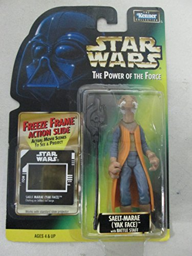1997 Kenner Star Wars The Power of the Force Saelt-Marae, used for sale  Delivered anywhere in USA