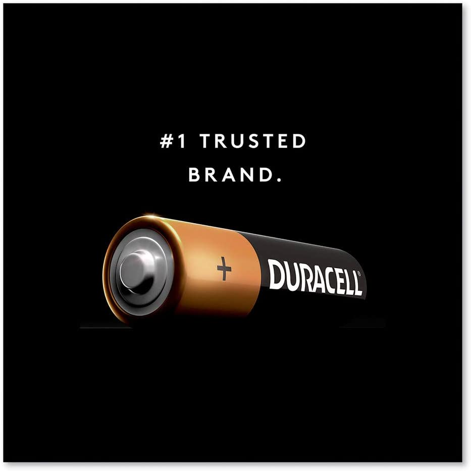 Pack of 20 Batteries Duracell Coppertop Alkaline AA Batteries