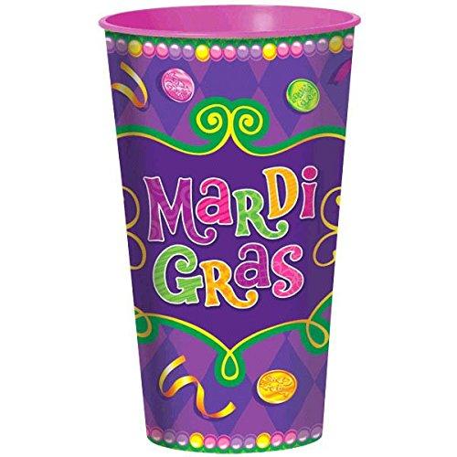 Mardi Gras Large Party Cup, 32 oz. ()