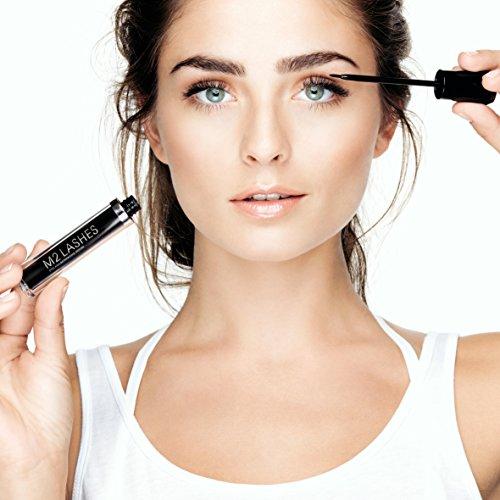 M2Beaute Mascara & Eyelash Activating Serum 5ml - 3 LOOKS BLACK NANO MASCARA with 5ml Eyelash growth Serum & M2Beaute Gift Box by M2Beaute (Image #4)