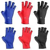 BMC 3pk of Nail Salon Anti-UV Protection Gloves for LED UV Gel Polish Drying Lamp