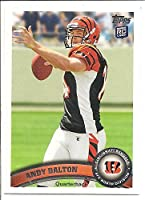Andy Dalton Cincinnati Bengals 2011 Topps Rookie Football Card #70