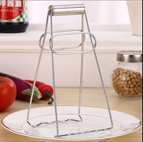 (ST park Stainless Steel Foldable Dish Plate Clip Tong, Hot Pot Dish Plate Clip)