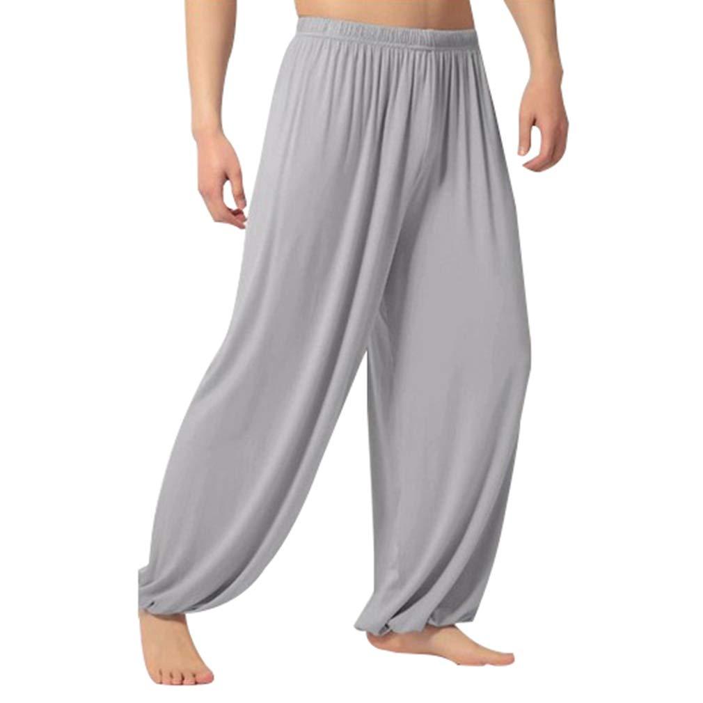 fuxinhe Maschile Pantaloni Harem Sciolto Pantaloni da Jogging Elasticità Pantaloni Sportivi Traspirante Pantaloni da Yoga