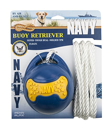 (Officially Licensed America's Navy: Buoy Retriever - Dog Toy)