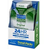 SmartMouth Mouthwash Packets Clean Mint 10 Each (Pack of 10)